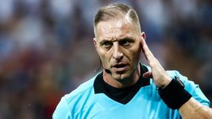 Néstor Pitana, árbitro argentino.