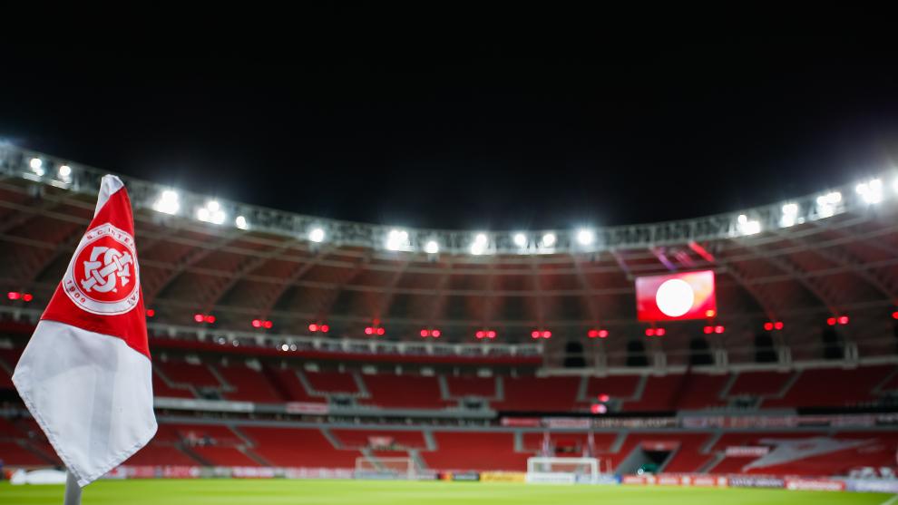 Estadio Beira-Rio de Poerto Alegre, en Brasil.