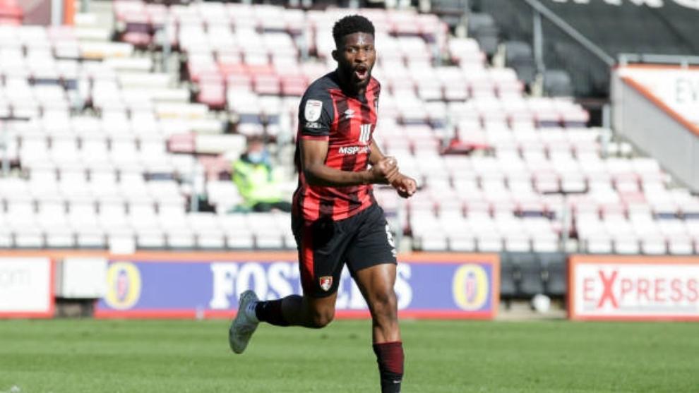 Jefferson Lerma (26) en un partido con el Bournemouth.
