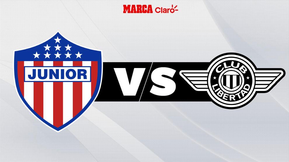 Junior de Barranquilla vs Libertad, en vivo: partido de ida en ...