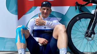 André Greipel, ciclista alemán.