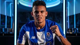 Luis Díaz, con la camiseta del Porto.