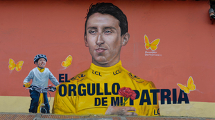 Julián Gómez, inmortalizado en el mural de Luis Carlos Cifuentes y...