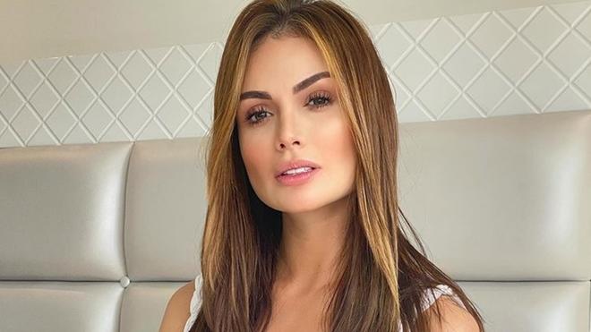 Sara Uribe, modelo y presentadora colombiana.
