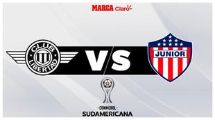 Libertad vs Junior por la Copa Sudamericana: cómo ver en vivo y en...