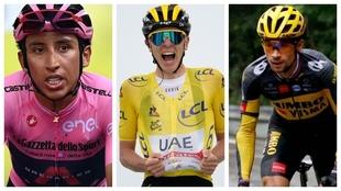 La Vuelta a España quiere juntar a Egan Bernal, Tadej Pogacar y...