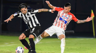 Junior vence 1-0 a Libertad, pero se despide de la Copa Sudamericana.