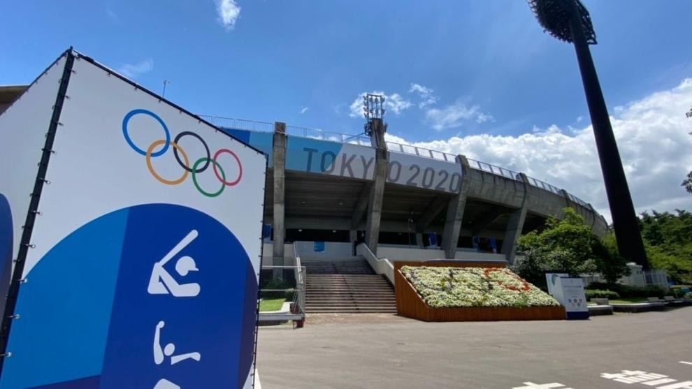 Estadio Olímpico de Tokio.