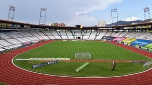 Estadio Palogrande de Manizales.