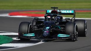 El nerviosismo de Mercedes en el Gran Premio de Gran Bretaña.