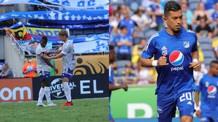 Andrés Román y Fernando Uribe llaman la atención de Rafa Benítez