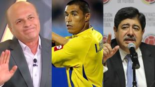 Carlos Antonio Vélez, Iván Ramiro Córdoba y Luis Bedoya.