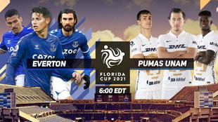 Everton vs Pumas; Florida Cup