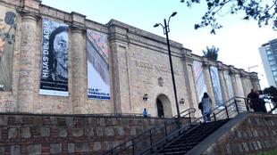 Entrada principal del Museo Nacional.