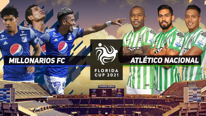 Millonarios vs Atlético Nacional en vivo y en directo online;...