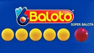 Todos los resultados del Baloto de este 28 de julio en Colombia.