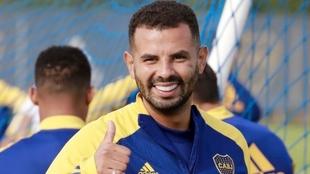 Edwin Cardona volvió a los entrenamientos con Boca Juniors y pidió...