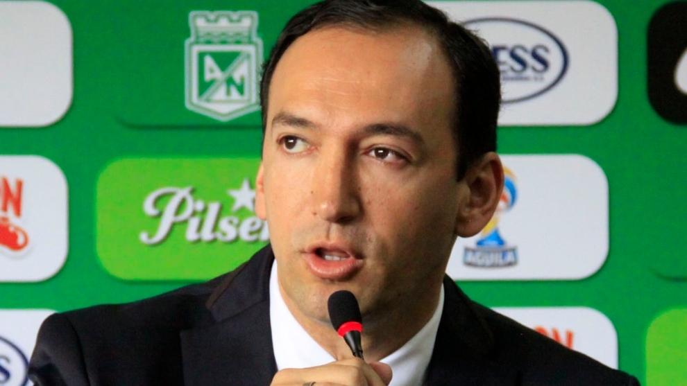 Juan Carlos de la Cuesta, expresidente de Atlético Nacional.