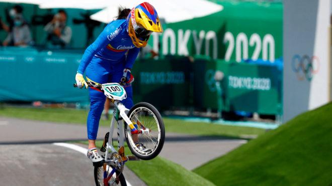 Mariana Pajón volvió a colgarse una medalla en Juegos Olímpicos,...