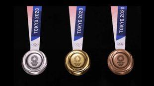Juegos Olímpicos Tokyo 2020, medallero al momento.