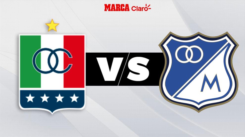Once Caldas vs Millonarios, en directo por internet.