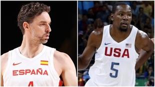 Cuartos de final Básket: Estados Unidos vs España desde Tokio.
