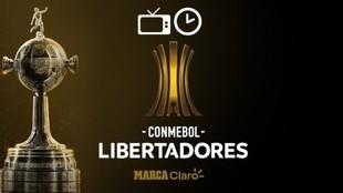 Copa Libertadores: Horarios de los partidos de cuartos de final.