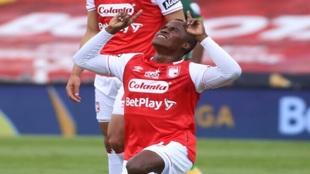 Jhon Arias, futbolista de Santa Fe
