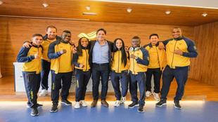 Boxeadores colombianos que fueron a los Juegos Olímpicos