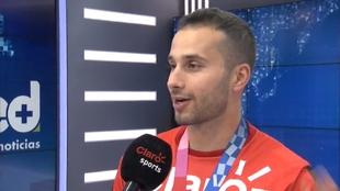 Carlos Ramírez, en entrevista con MARCA Claro.
