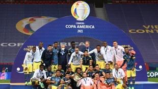 La selección colombiana quedó tercera en la Copa América
