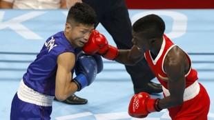 Yuberjén Martínez vs Tanaka en Tokio 2020