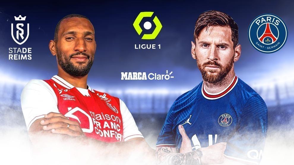 Reims vs PSG, en vivo online el primer juego de Messi con el Paris ...
