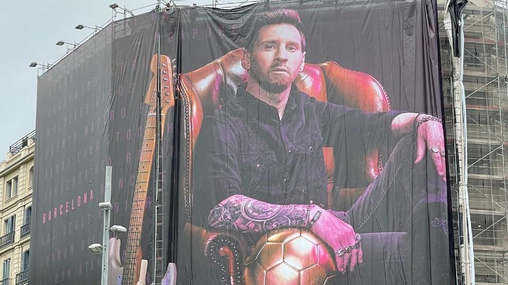 Leo Messi 'regresa' a Barcelona