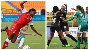 Santa Fe y Deportivo Cali femenino