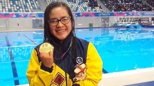 Laura González gana medalla de bronce para Colombia.