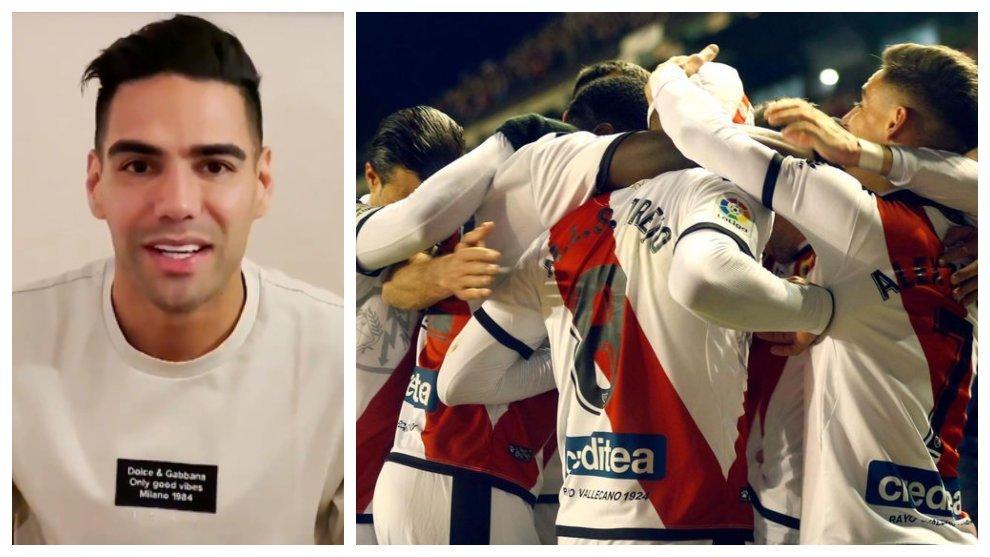 Falcao es nuevo jugador de Rayo Vallecano