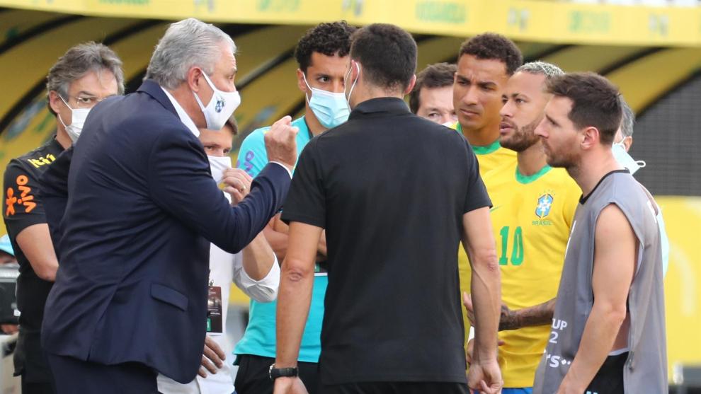 Brasil vs Argentina: seis minutos de juego, toda una vida de ...