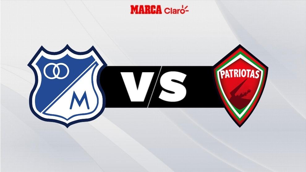 Millonarios vs Patriotas, en vivo el partido por la fecha 8 de la Liga ...