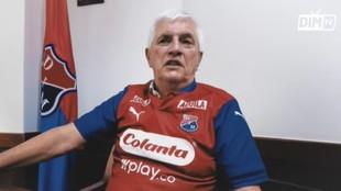 Julio Comesaña, técnico del Medellín