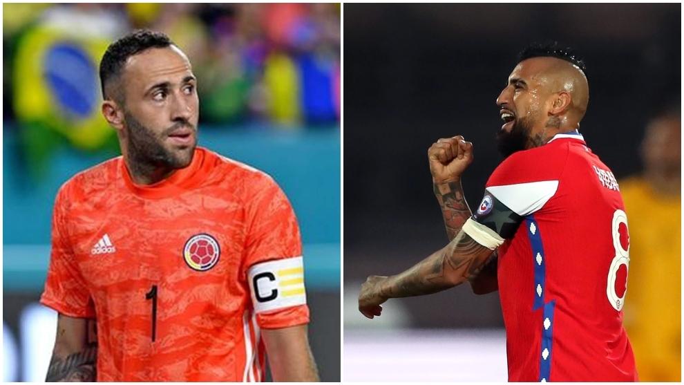 Colombia vs Chile: posibles formaciones