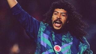 René Higuita en la Selección Colombia