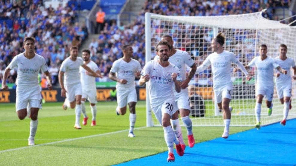 Bernardo Silva 'salva' al Manchester City de un Leicester bastante ...