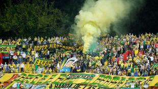 Hinchas de Bucaramanga y Millonarios protagonizaron desmandes cerca al...