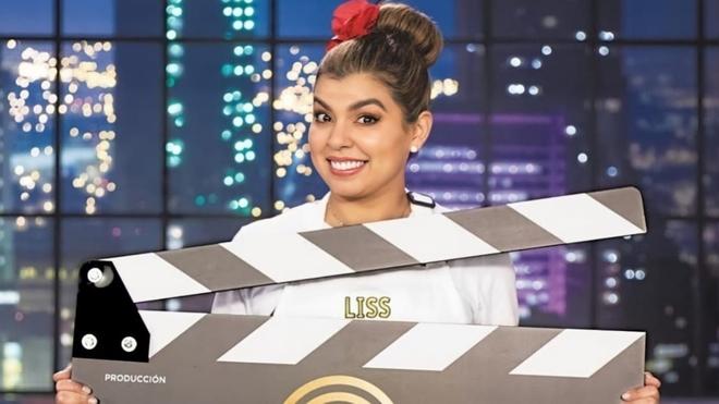 Liss Pereira, participante de Masterchef Celebrity.