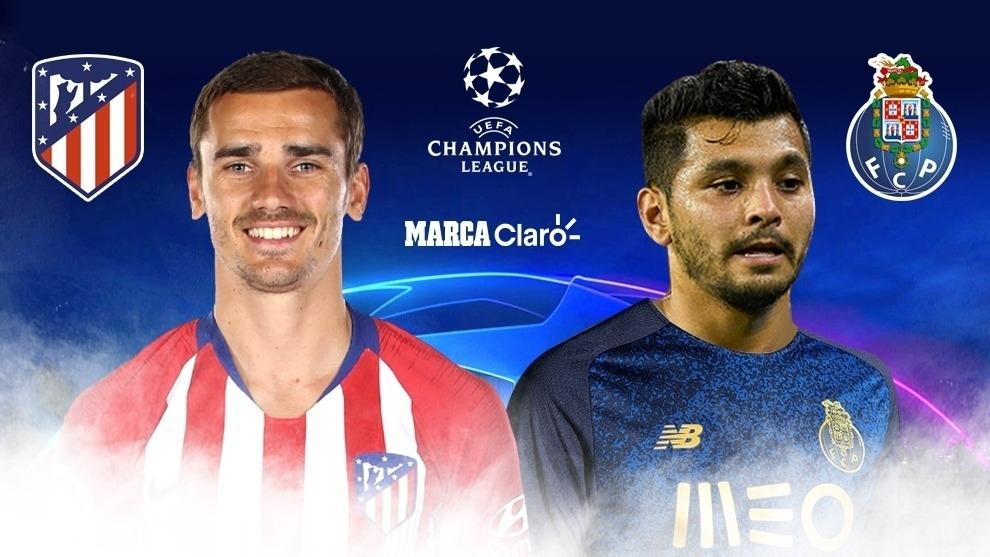 En vivo: Atlético Madrid vs Porto