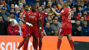 Rangers pierde en su casa 0-2 frente a Lyon en el debut de la Europa...