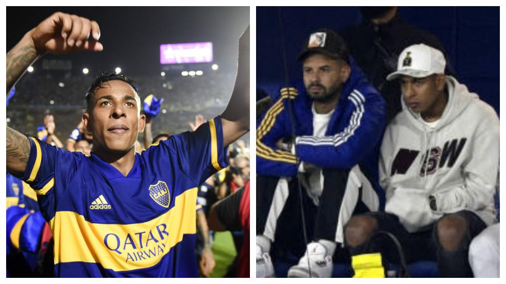 La caída libre de Sebastián Villa en Boca Juniors.