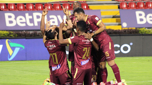 Tolima vence 2-0 a Equidad y avanza a la semifinal de la Copa Betplay.