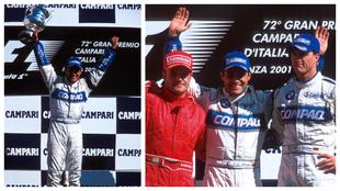 Juan Pablo Montoya ganó hace 20 años su primera cerrera de Fórmula...